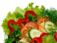 Przygotowanie sałaty