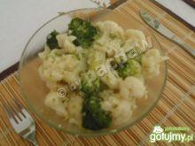 Przysmak brokulowo-kalafiorowy