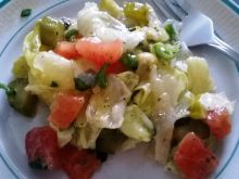 Przystawka pomidorowa z miodową nutą