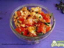 Przystawka pomidorowa z śledzikiem