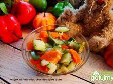 Przystawka z cukinii i marchewki