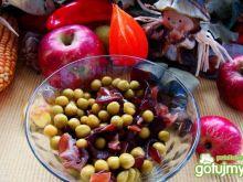 Przystawka z groszku i grzybów mun