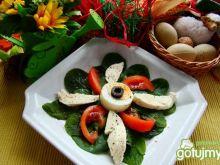 Przystawka z mozzarelli i pomidora
