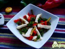 Przystawka z mozzarelli i szparagówki