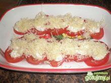 Przystawka z pomidora i czosnku