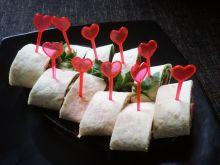 Przystawki z tortilli i schabu