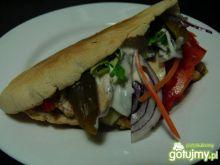 Pseudo kebab z kurczakiem