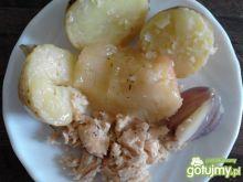 Pstrąg łososiowy z jabłuszkiem dla malca