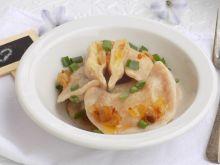 Pszenno-orkiszowe pierogi z ziemniakami i cebulką