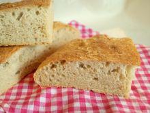 Pszenny chleb drożdżowy bez wyrabiania
