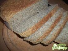 Pszenny chleb z płatkami owsianymi