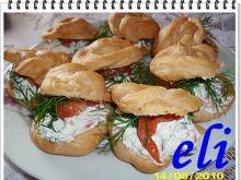 Ptysie Eli z łososiem