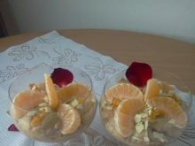 Pucharek kawowo-mandarynkowy