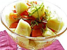Pucharki z marchwi i jabłek