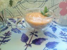 Pudding chia z musem owocowym