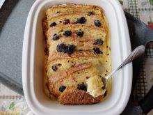 Pudding z drożdżówki (lub chałki)