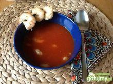 Pudliszkowa pomidorowa z krewetkami