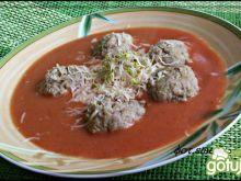 Pudliszkowa - serowa  z klopsikami