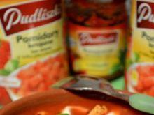 Pudliszkowa z kurczakiem i mozzarellą