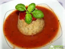 Pudliszkowa z mięsno ryżowym kominkiem