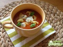 Pudliszkowa z tortellini i gorgonzolą