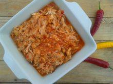 Pulled chicken czyli wyczesany kurczak