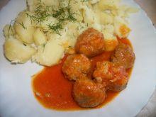 Pulpeciki w aksamtnym sosie pomidorowym