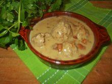 Pulpeciki w sosie kalarepkowo-kurkowym