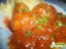 Pulpeciki w sosie pomidorowo-cebulowym