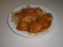 Pulpeciki w sosie pomidorowo- koperkowym