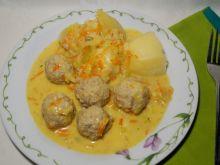 Pulpeciki wieprzowe w sosie porowym