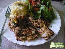 Pulpeciki z makreli z kukurydzą