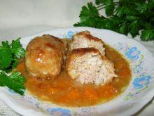 Pulpeciki z ryżem w sosie