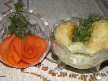 Pulpety drobiowe w sosie koperkowym :