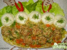 Pulpety mięsno-ryżowe