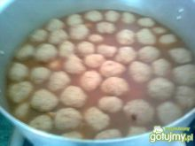 Pulpety rybne w sosie słodko-kwaśnym