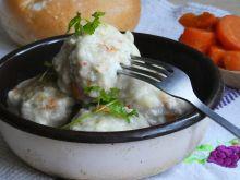 Pulpety w sosie chrzanowo-jogurtowym