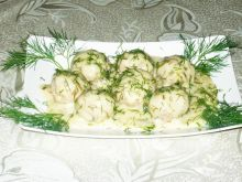 Pulpety w sosie koperkowym