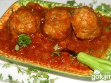 Pulpety w sosie paprykowo-pomidorowym