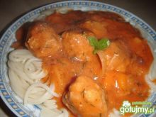 Pulpety w sosie pomidorowym do makaronu