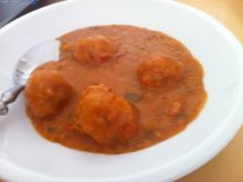 Pulpety wieprzowe w sosie pomidorowo-paprykowym