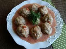 Pulpety wieprzowe z czubricą w pomidorach