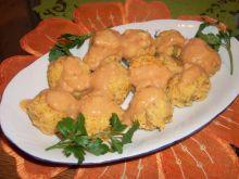 Pulpety z ciecierzycy w sosie pomidorowym