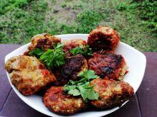 Pulpety z indykiem i cukinią w sosie pomidorowym