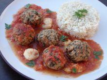 Pulpety zapiekane w sosie pomidorowym z mozzarellą