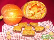 Pumpkin brownie - czekoladowe z dynią