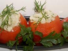 Puree z kalafiora w pomidorach