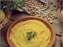 Puree z suchego grochu lub fasoli