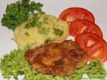 Puree ziemniaków z dynią i serem
