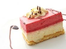 Puszyste ciasto sernikowe
